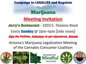 Arizona Marijuana Legalization Meeting