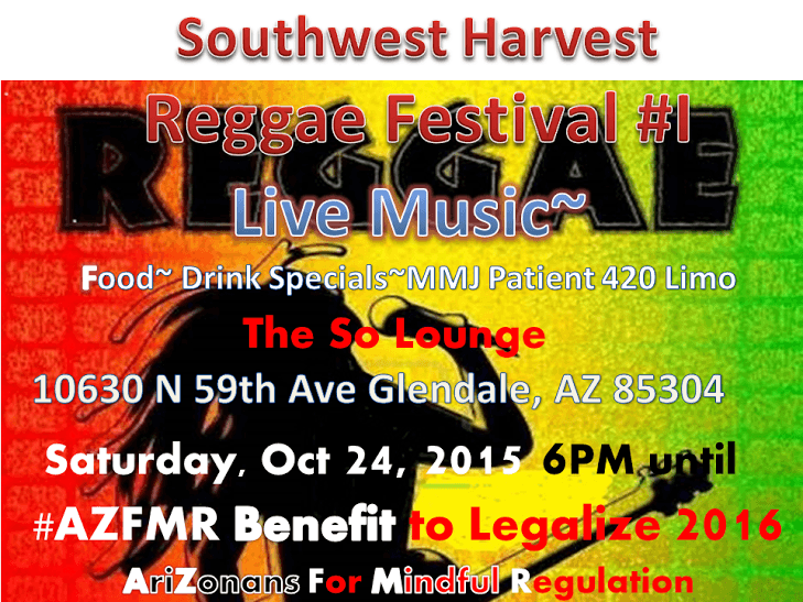 Camp 420 and AZFMR Southwest harvest reggae festival